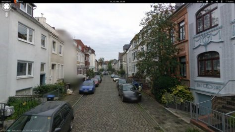 Google Streetview at Findorff - Bremen